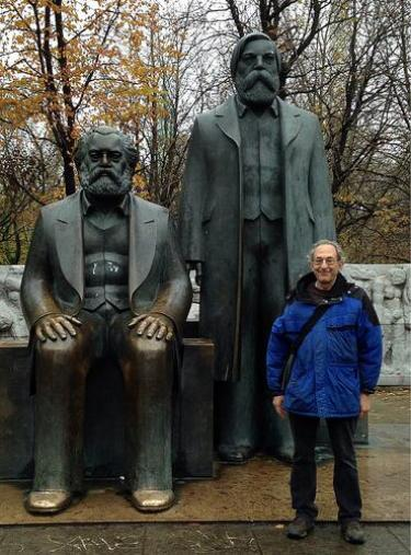 Theorists of non-continuity: Marx, Engels, and Steven Shaviro. Source: @shaviro Twitter feed