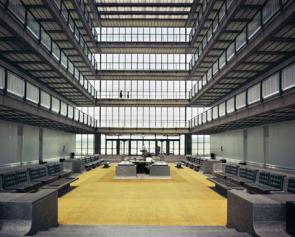 The Living Archive: Apparently there's talk about turning the old Bell Labs atrium, shown here, into condos. See http://archpaper.com/news/articles.asp?id=3631#.VFQCsvTF_Lk